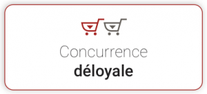 Pictogramme concurrence déloyale