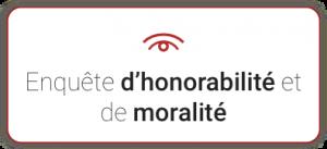 Pictogramme enquête de moralité